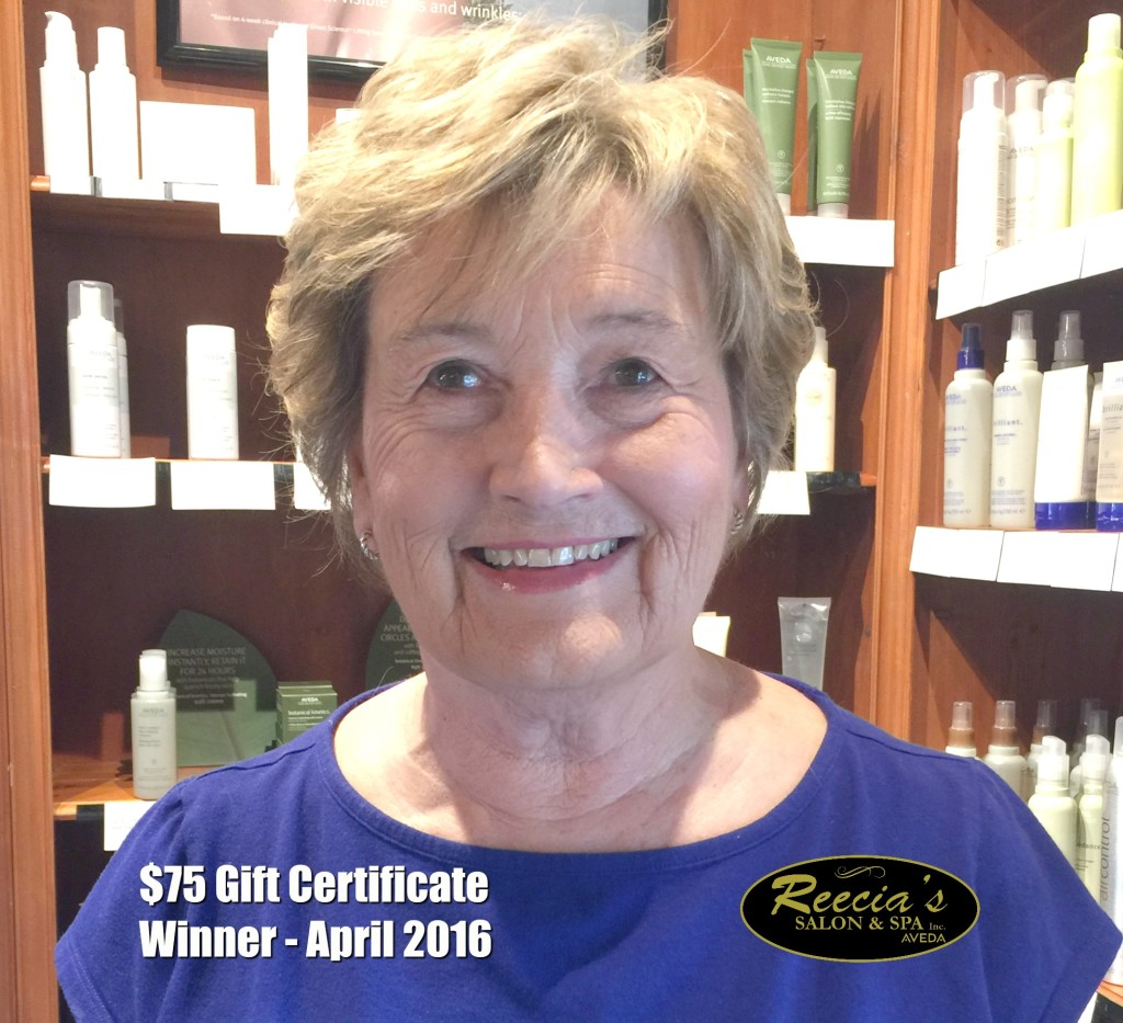 Nancy Brown - April 2016 Winner cropped