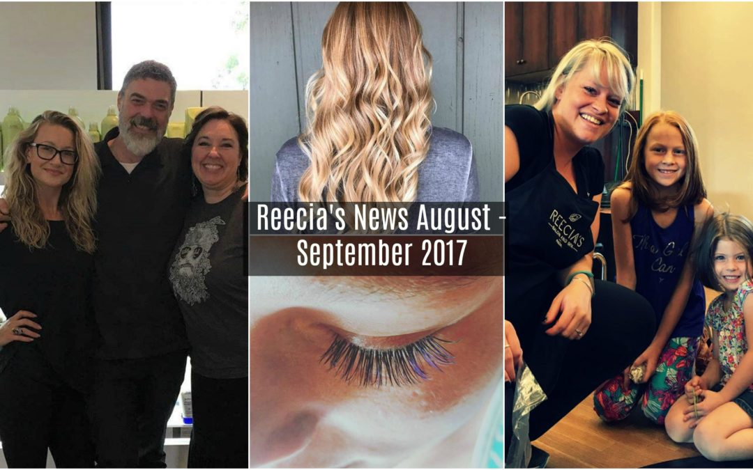 News – August/ September 2017 – New Products, Before and Afters, Work with Us,  Reecia's App