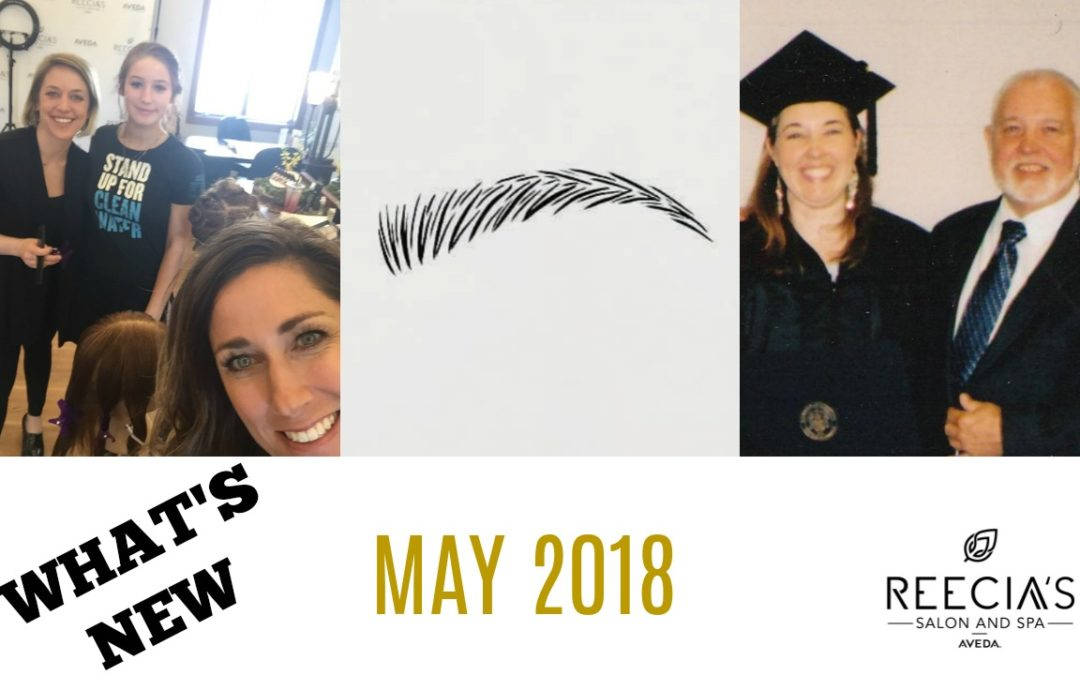 Our May Highlights: Celebrate Mother's day, Father's Day is coming, Know What We We Made Of, Best Of Whitefish, Reecia's Model Call,  Before and Afters