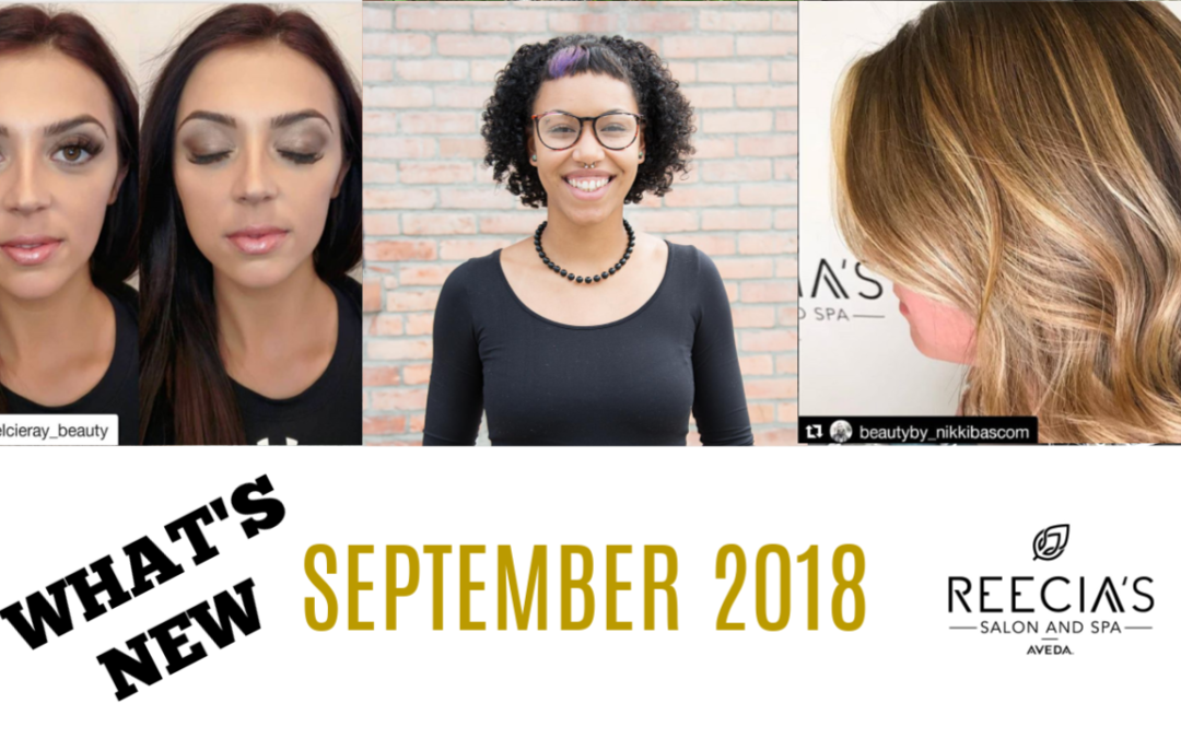 Our September Highlights: Meet Khaila Smith, Purify and Detox, Seeking Lash Technician , Aveda Workshop, Flash Sale 20% Off, Before and Afters, Reviews