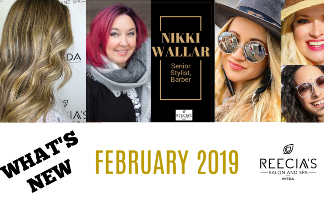 Our February 2019 Highlights: Perfecting Plant Peel, Valentine's day Giveway , Whitefish Winter Carnival, Before and Afters, Meet Our Team