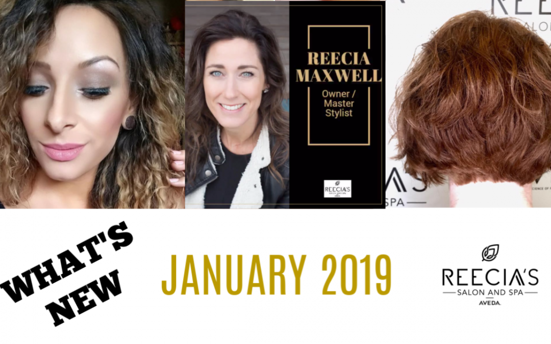 Our January 2019 Highlights: Happy New Year, Glow Out, Lash Extention , Before and Afters, Meet Our Team