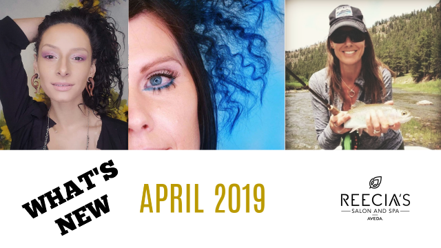 Our April 2019 Highlights: Show You Care Shampure, Aveda Water Month 2019 , Pure Privilege Vip Celebration, Before and Afters, Meet Our Team