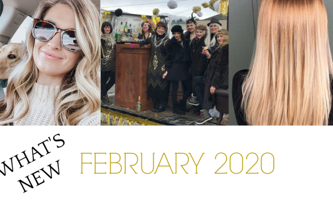 Our February 2020 Highlights: Nutriplenish Hair Hydration, Microblading, Winter Carnival 2020, Spring Break, Before and Afters