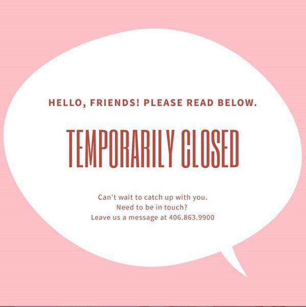 We are temporarily closed from March 22nd- April 10th | Curbside pickup on products available