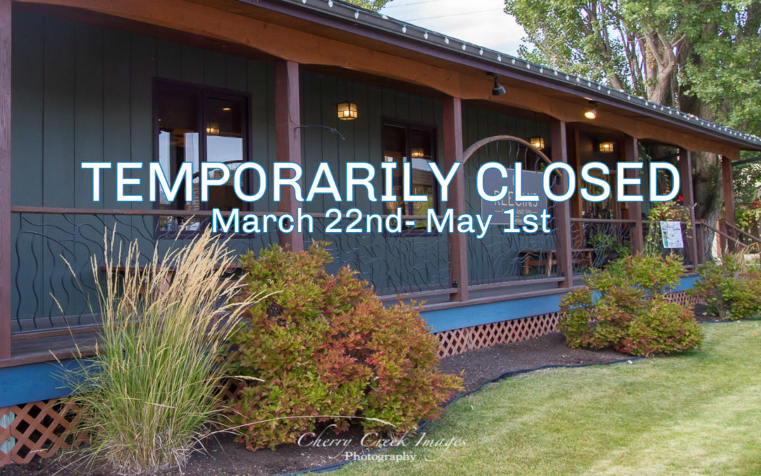 We are Temporarily Closed – Curbside Pickup – Online Shopping