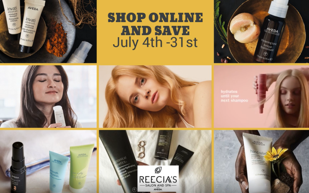 Reecia's Salon – Promotions – Savings – July 2020