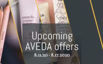 Reecia's Salon – Upcoming ONLINE Aveda Offers and Savings – 8.11.20 – 8.17.20