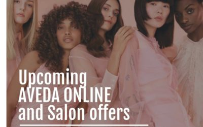 Reecia's Salon – Upcoming ONLINE Aveda Offers and Savings – 01.01.21 – 01.06.21