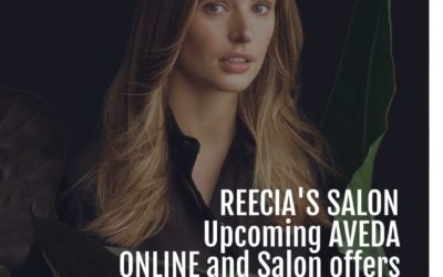 Reecia's Salon – Upcoming ONLINE Aveda Offers and Savings – 02.01.21 – 02.10.21